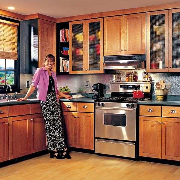 How to refinish old wooden kitchen cabinets www for Redo old kitchen cabinets