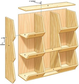 DIY Toy Storage | The Family Handyman
