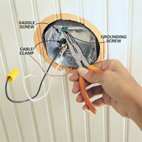 How to Install Ceiling Fans     The Family Handyman How to Install Ceiling Fans