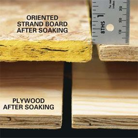 Oriented Strand Board Vs Plywood The Family Handyman
