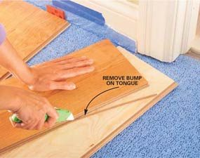 Guide to Installing Laminate Flooring   The Family Handyman Guide to Installing Laminate Flooring
