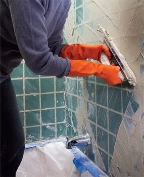 regrout wall tile diy