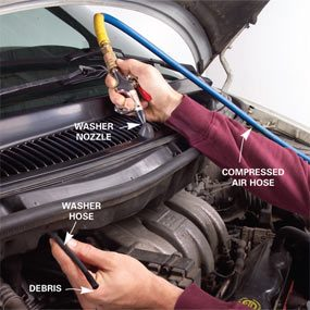 Windshield Washer Repair: How to Fix Your Window Washer   The Family Handyman