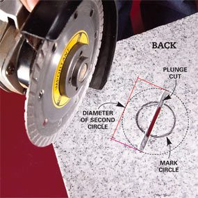 how to cut tile with a grinder diy