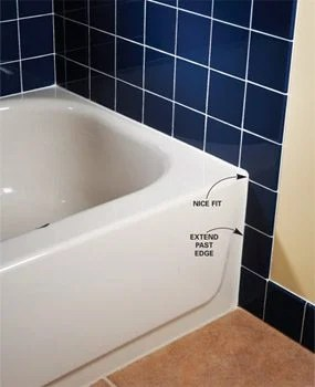 tile layout for tubs and showers diy