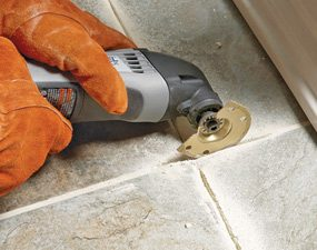 tips for removing grout diy family