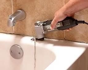 How To Re Caulk A Shower Or Bathtub The Family Handyman
