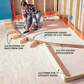 how to build shower pans diy family