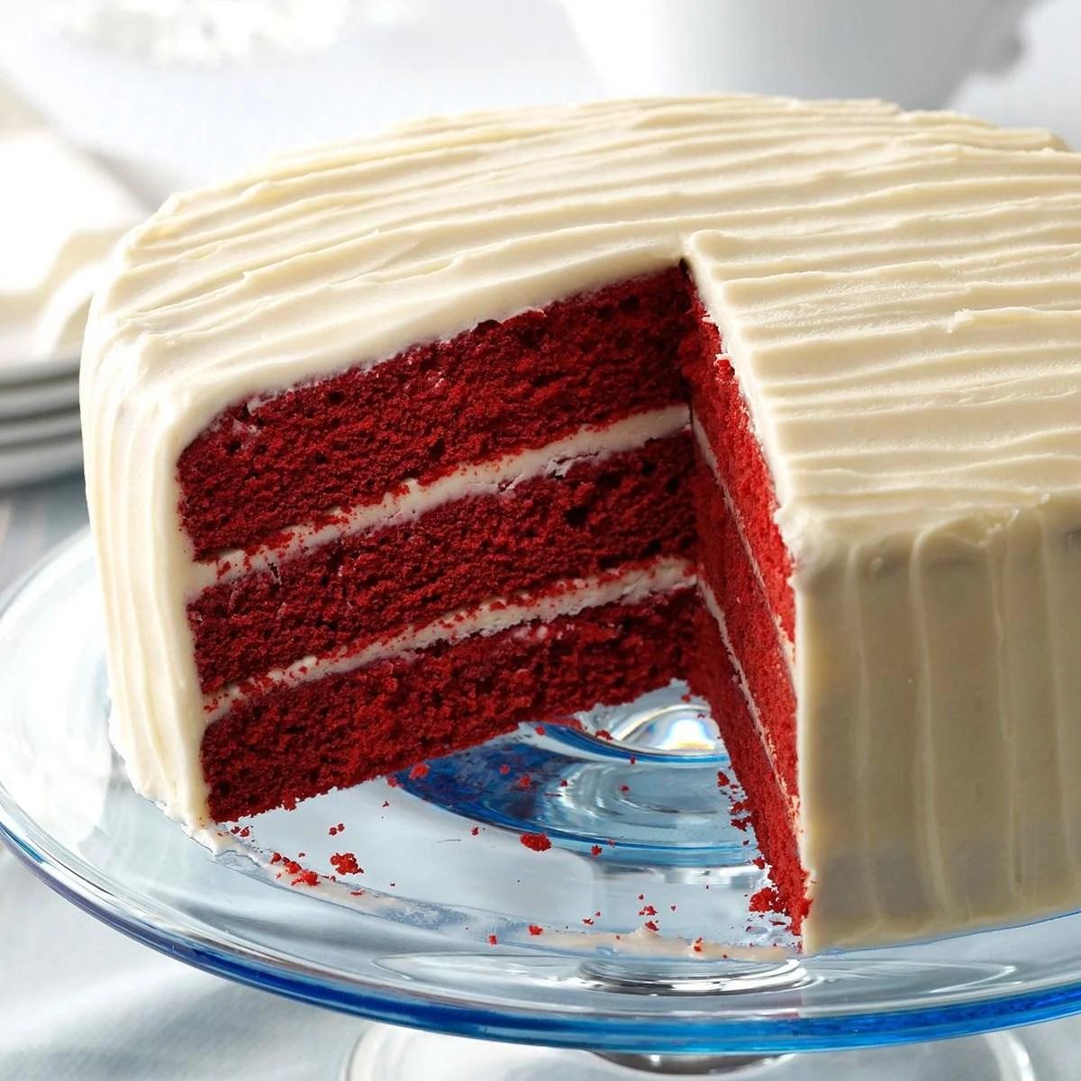 Quick And Easy Red Velvet Cake