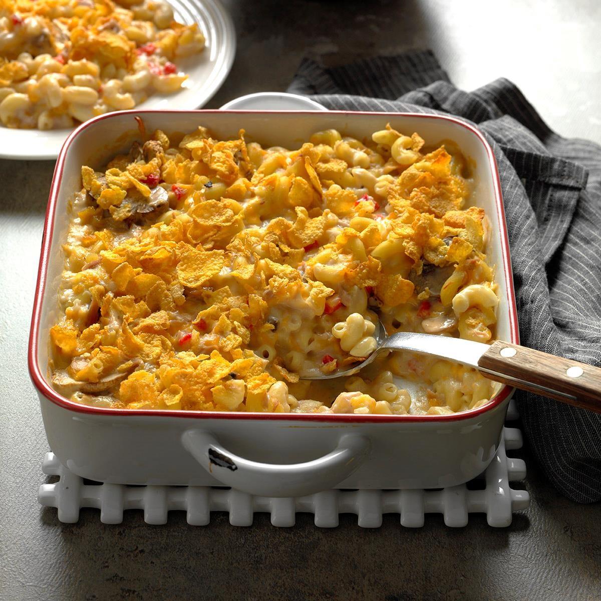 De Lightful Tuna Casserole Recipe Taste Of Home