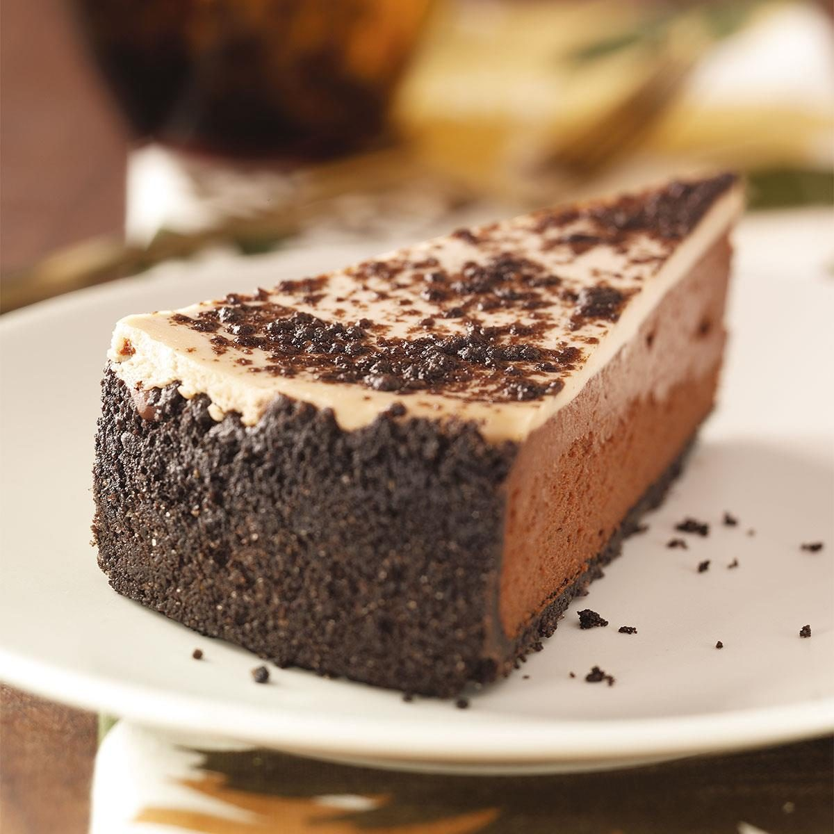 Image result for No-Bake Lime Cheesecake with Chocolate Almond Crust