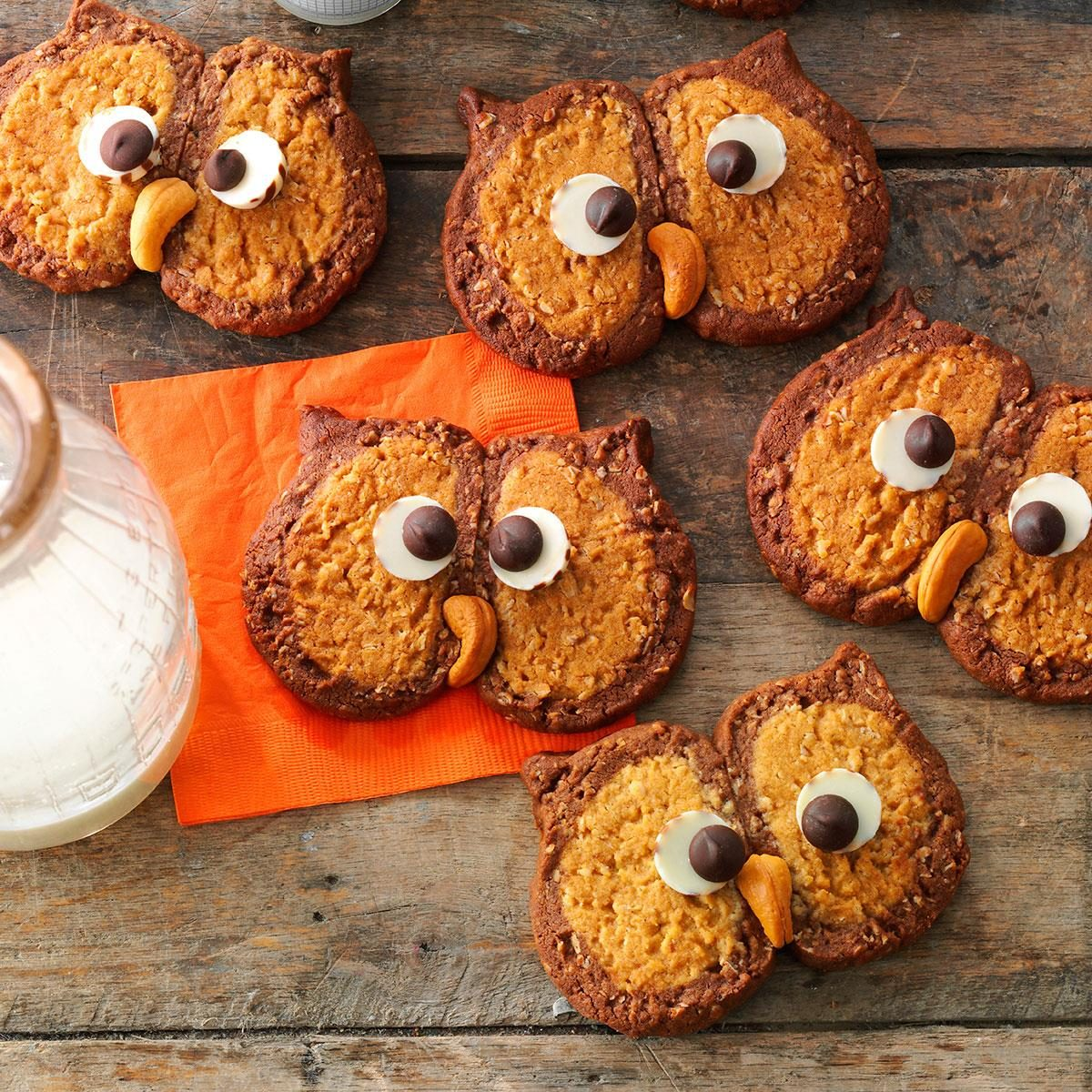 Owl Cookies Recipe