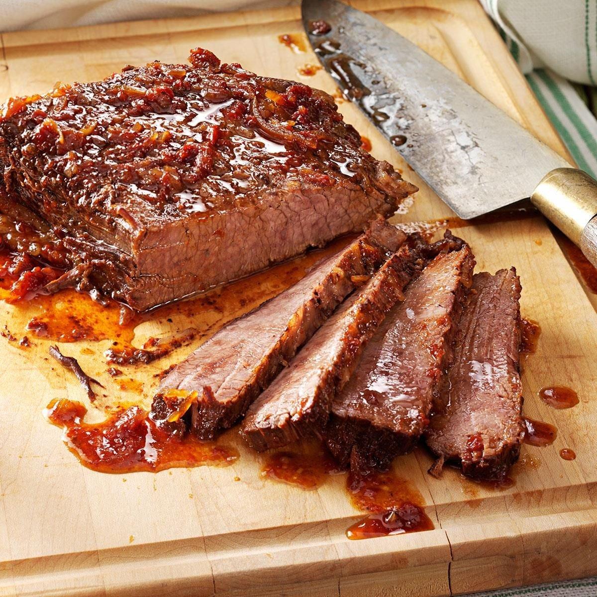 Sweet And Savory Brisket Recipe Taste Of Home