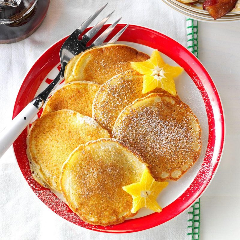 Резултат со слика за Snowman pancakes with orange and spice