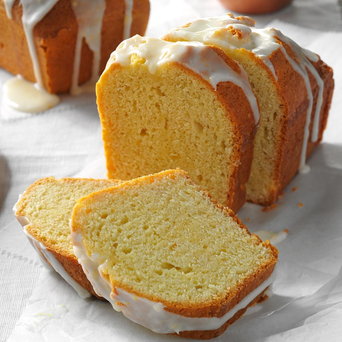 Lemon Pound Cake Loaves Recipe