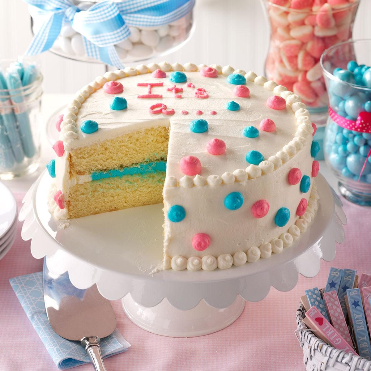 Gender Reveal Cake Recipe