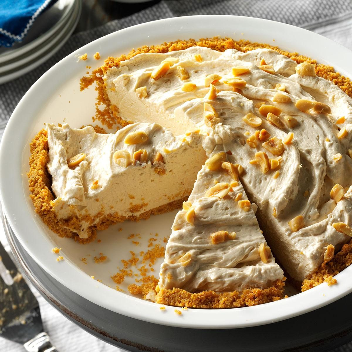 Peanut Butter Cream Pie Recipe Taste Of Home