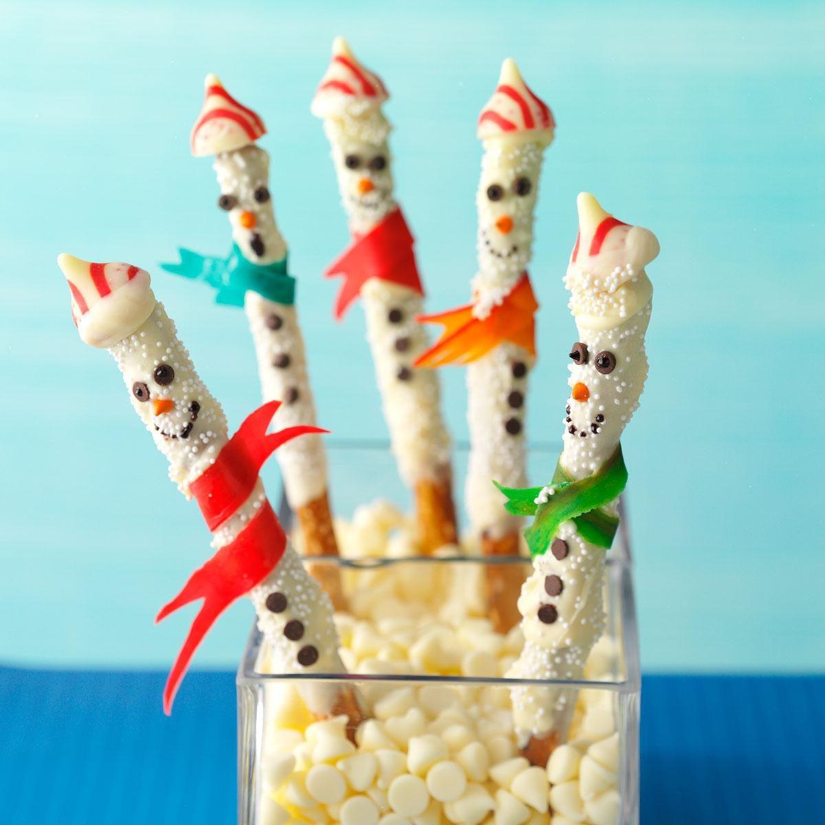 Sweet Amp Salty Snowmen Recipe