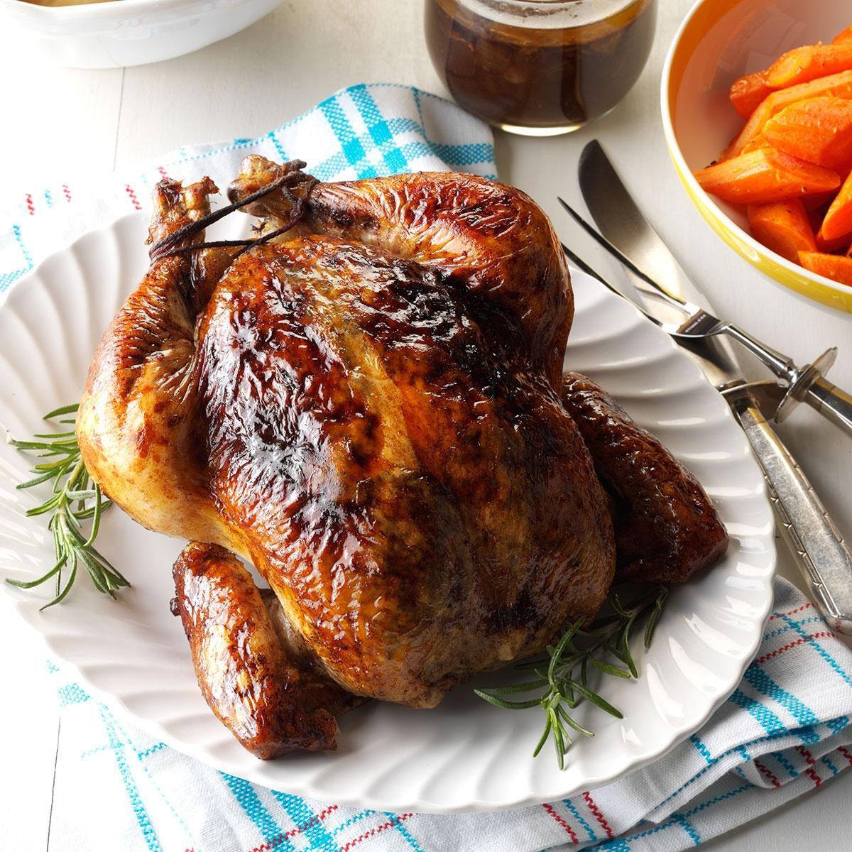Balsamic Roast Chicken Recipe Taste Of Home