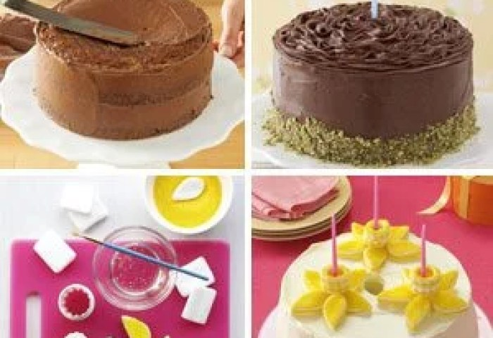 Birthday Cake Decorating Ideas Taste Of Home