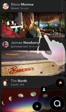 Atmospheir for iPhone reimagines your address book for the social era