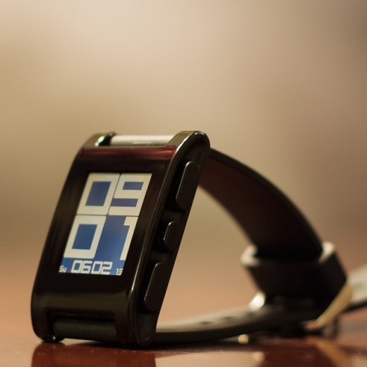 pebble 520x520 Pebble smartwatch gets do not disturb setting, multiple alarms and alarm snoozing
