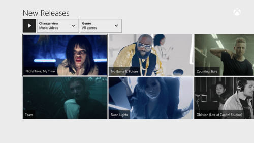 MusicVideos Microsoft brings more than 92,000 music videos to Xbox Music on Xbox One