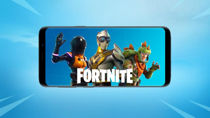Fortnite Mobile on Android Best Graphics Mobile Games 2021