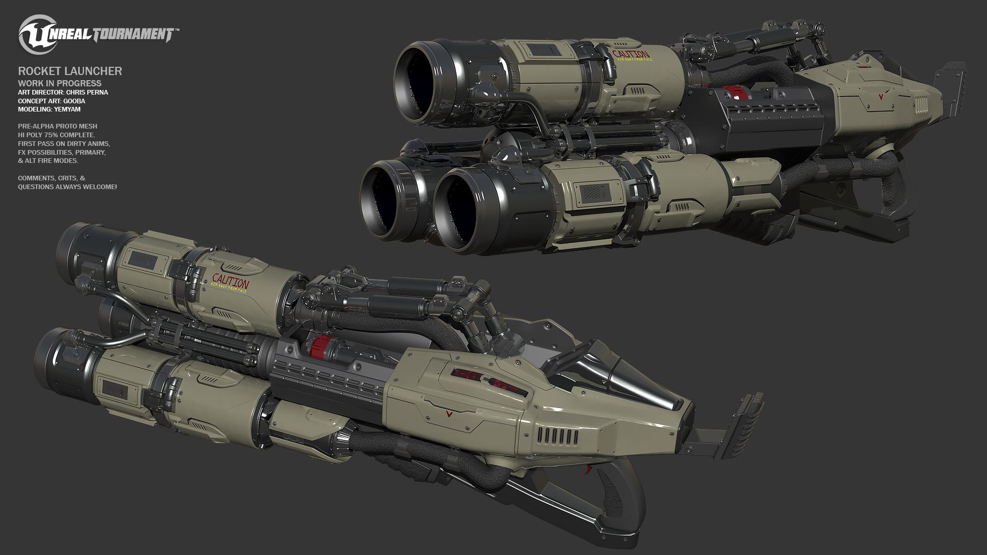 Concept Art Weapon Doom
