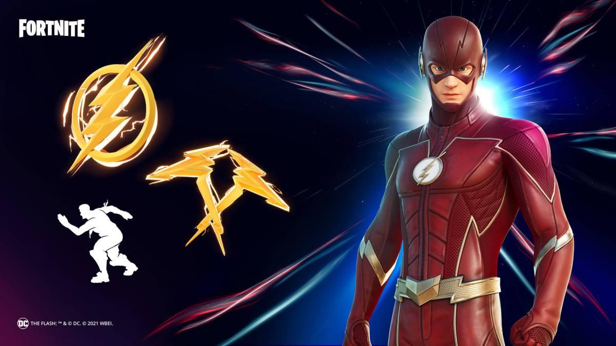 DC's The Flash Bundle Fortnite