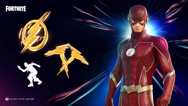 Conjunto Flash Fortnite