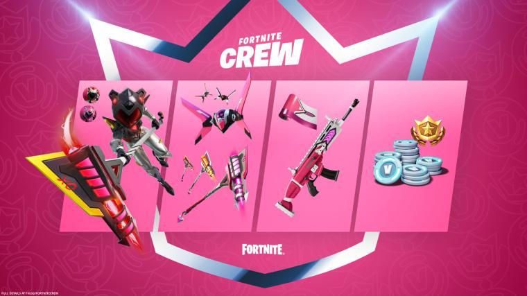 Fortnite June Crew Pack