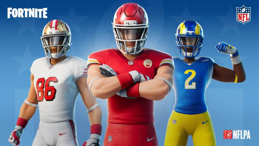 Fortnite Nfl Gridiron Gang Outfits