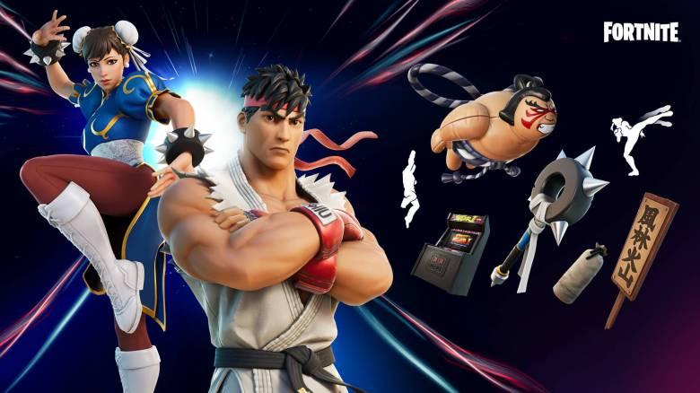 Fortnite Street Fighter Set