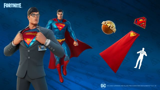 Fortnite Superman Items