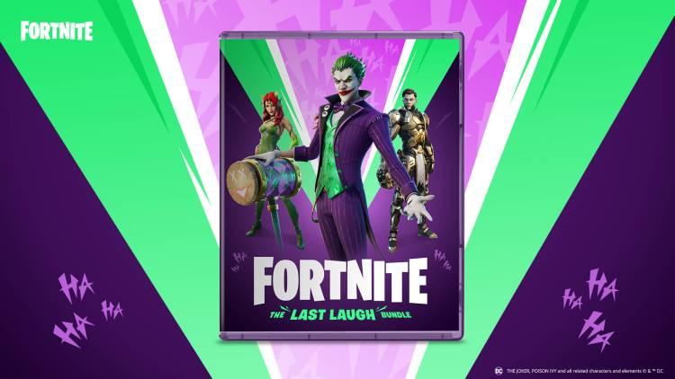 Fortnite The Last Laugh Bundle Joker