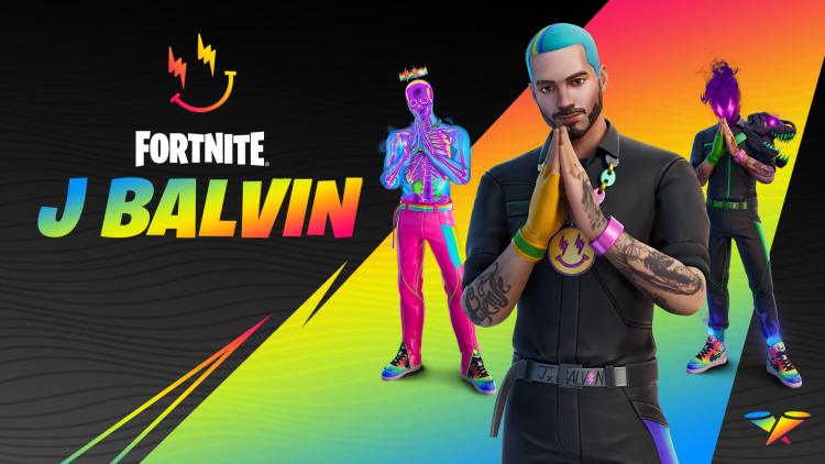 J Balvin Joins the Fortnite Icon Series