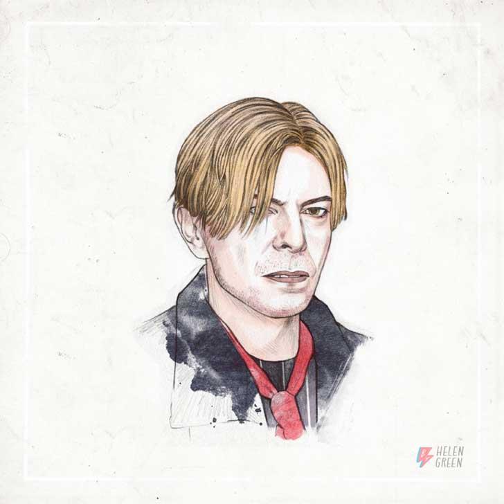 50 Aos De Maquillaje Y Peinados De David Bowie En Un Solo