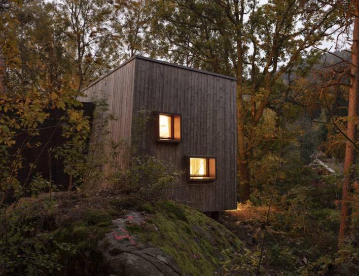 Hospitales de Noruega construyen cabañas de recuperación en el bosque 1 730x561 1 - Hospitales de Noruega instalan cabañas al aire libre para sanar pacientes con ayuda de la naturaleza
