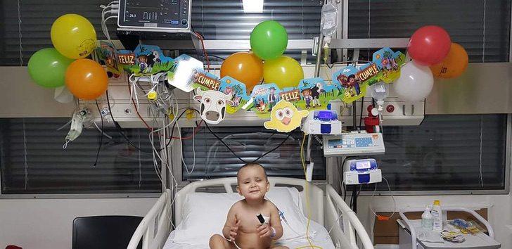 2GAC7FTAIFAU7AKJFFFW7G6HDY - Está sano: Niño de 2 años recibió trasplante de médula, venció a la leucemia y también al COVID-19