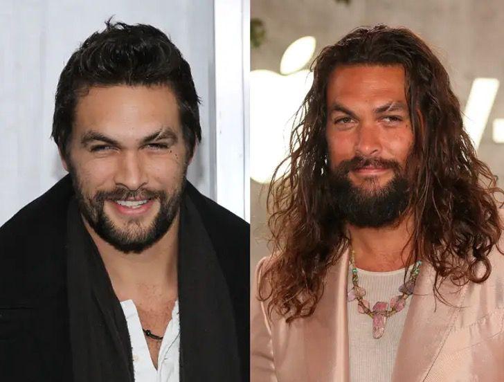 famosos pelo largo4 - 17 hombres famosos que lucen mejor con el pelo largo. Brad Pitt derrocha sensualidad