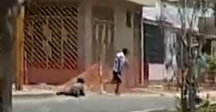 Captura de Pantalla 2021 01 08 a las 14.31.04 - Maestro de jiu-jitsu frustró robo de mujer en la calle. Persiguió al delincuente y lo paralizó