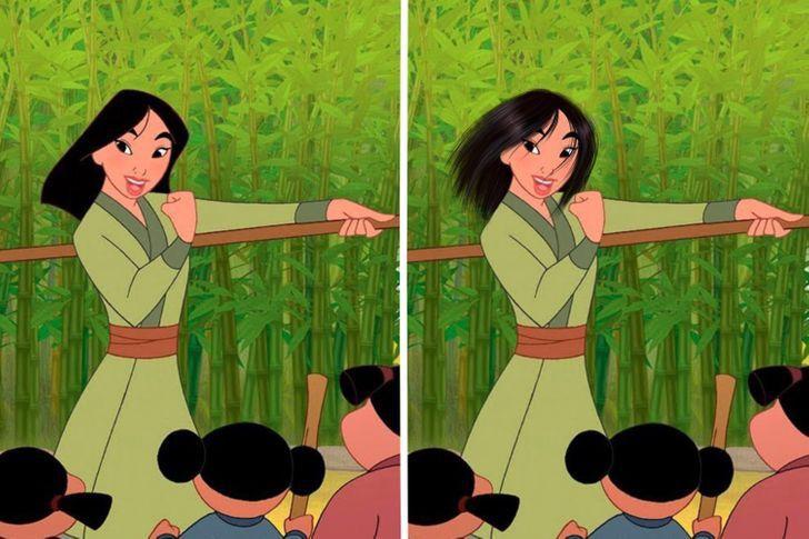 3 60 - Así se verían las princesas Disney si tuvieran un cabello más real. Ariel por fin lo tiene mojado