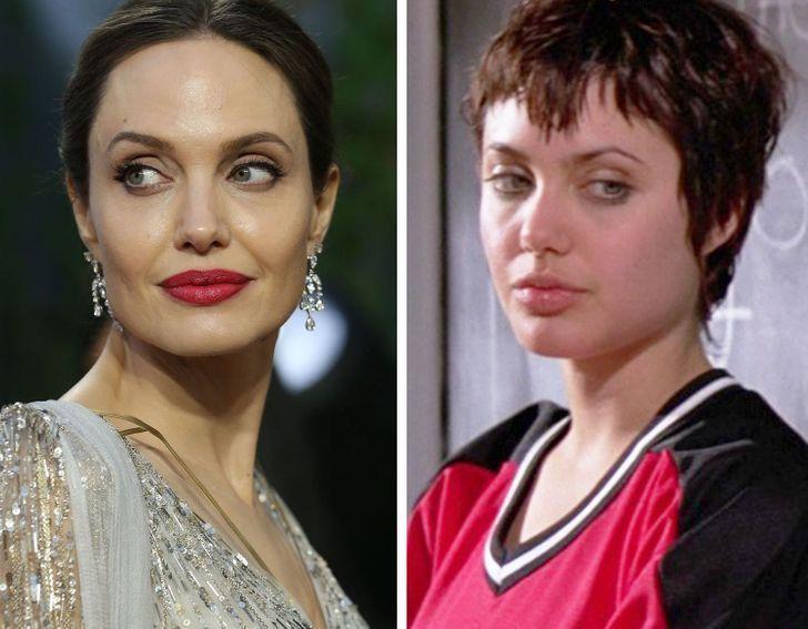 15 11 - Así lucían estas 15 estrellas de Hollywood en sus primeros papeles. Angelina era idéntica a Shiloh