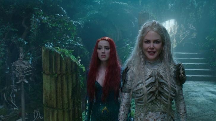 """heard warner 3 1 - Amber Heard estaría en conflicto con Warner Bros. por """"Aquaman 2"""". Ellos querrían que renuncie"""