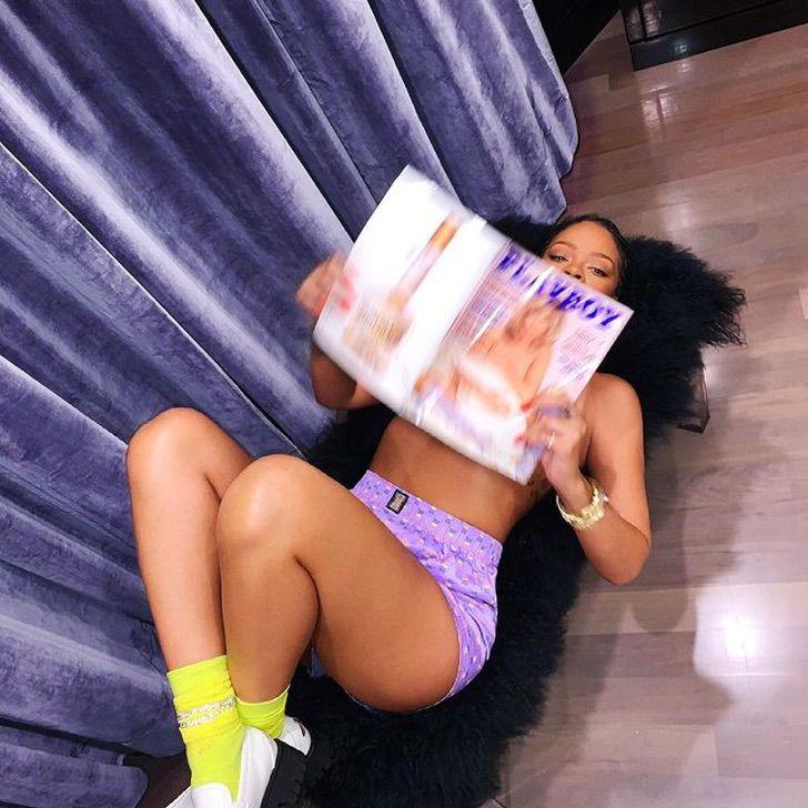 rihanna sensual instagram fotografias sesion0003 - Rihanna aseguró que no opinará nada sobre su última sesión en lencería. Solo quiere ser salvaje