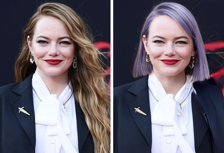 famosas iconicos looks5 - 11 mujeres famosas y cómo cambiaría su apariencia si dejaran de usar sus icónicos looks