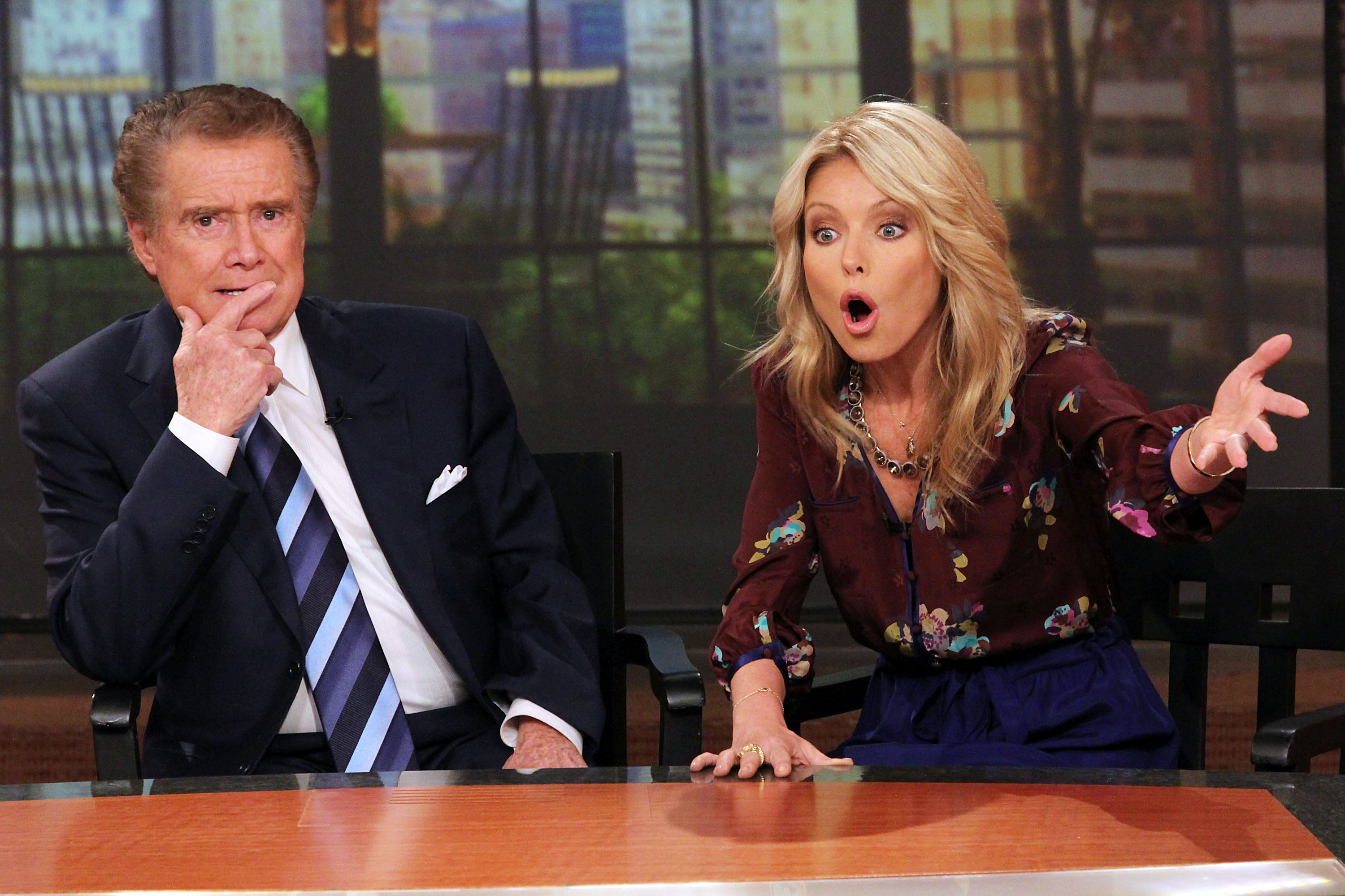 Regis Philbin Opens Up To Larry King About Kelly Ripa