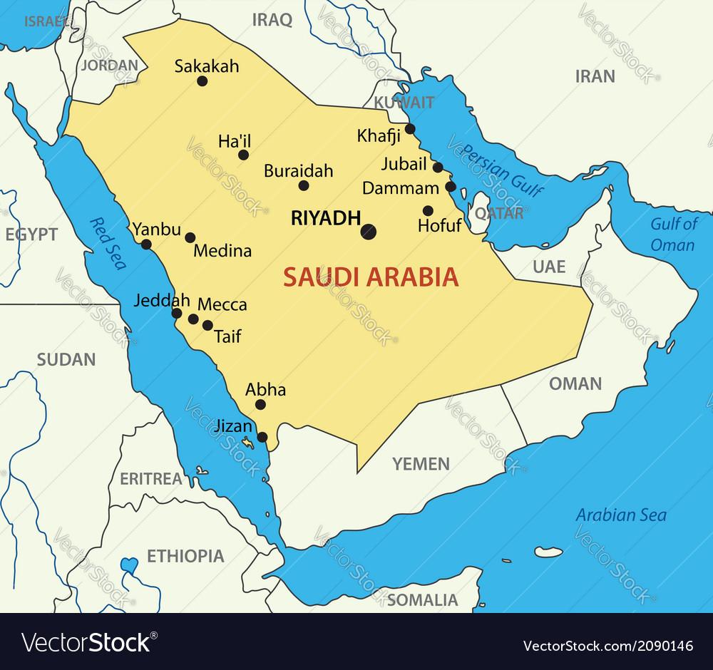 Image result for saudi arabia map
