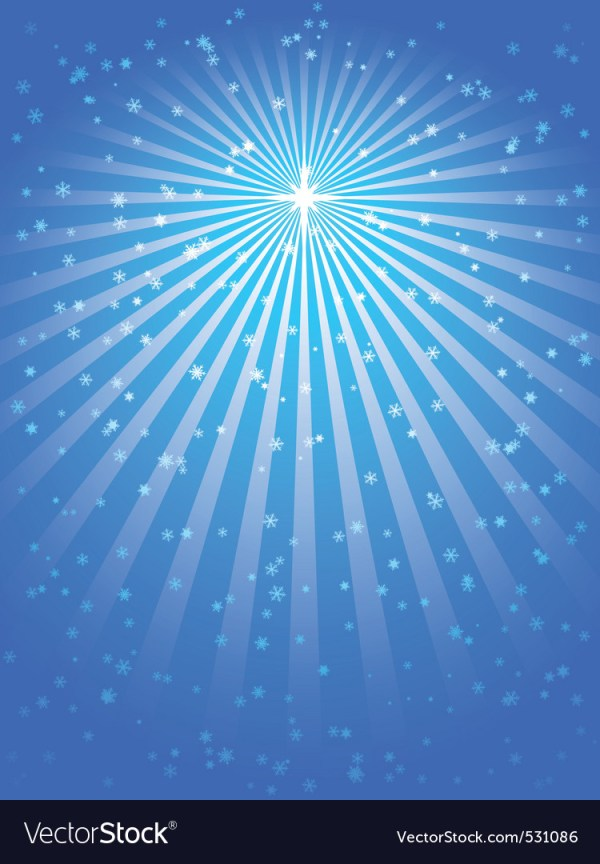 Christmas star blue vector background Royalty Free Vector